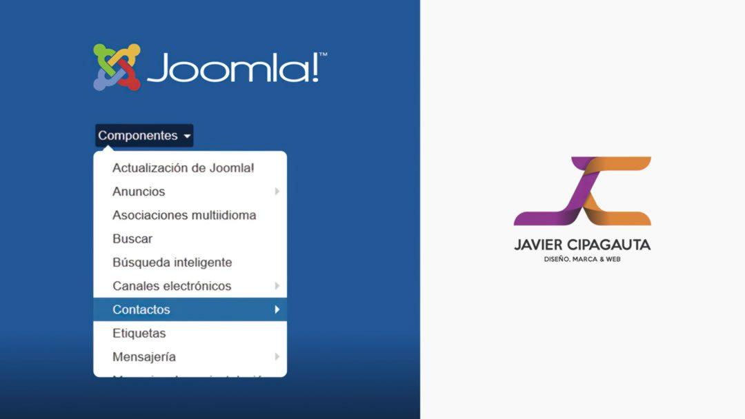 Componentes Joomla!, Panel de administración
