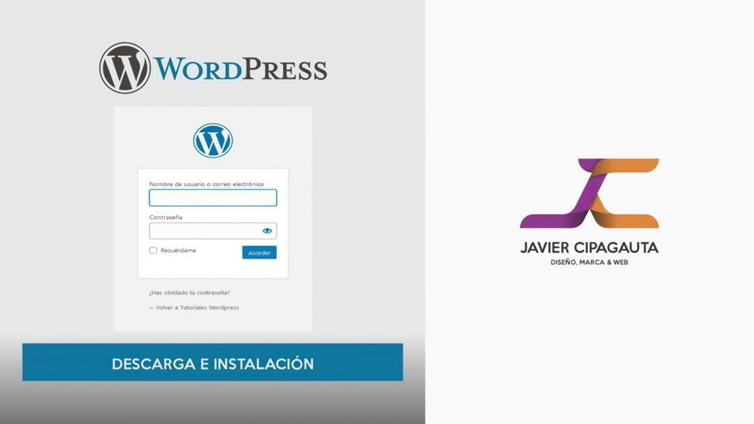 Descarga e Instalación de Wordpress