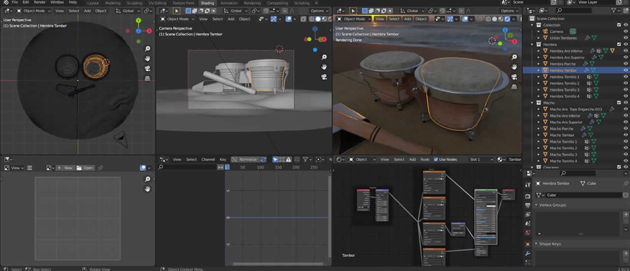 Diseño Gráfico 3D, Imagen 3D