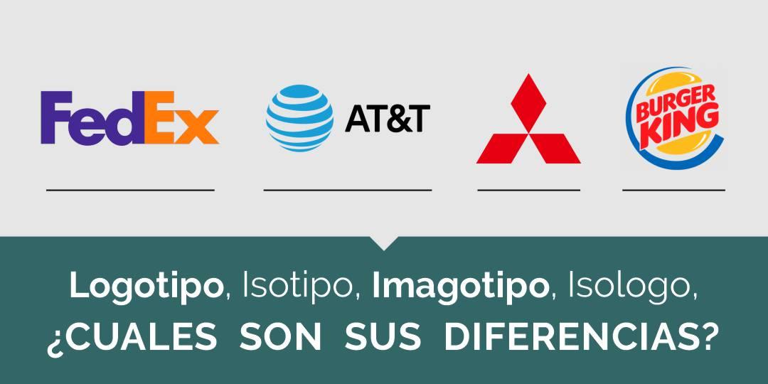 Logotipo, isotipo, imagotipo, isologo y sus diferencias